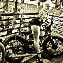 Anya Terebenina-Taggart - Harley Davidson Girl
