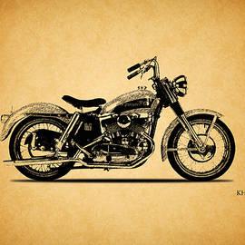 Harley Davidson KHK 1956 - Mark Rogan