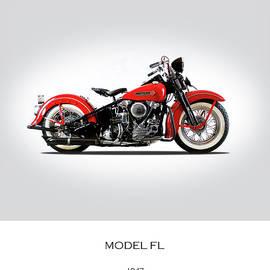 Harley Davidson Model FL - Mark Rogan