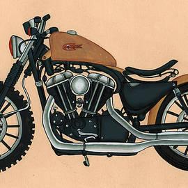 A K Mundra - Harley - Davidson Old Bykes,Antique Vintage