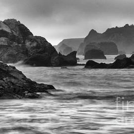 Bob Christopher - Harris Beach Oregon Monochrome