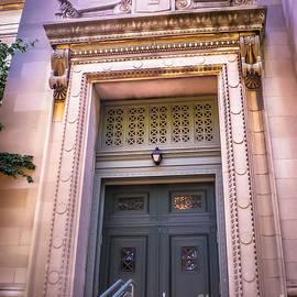 Claudia M Photography - Harvard building entrance