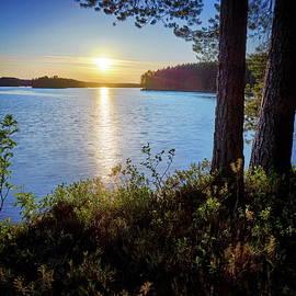 Jouko Lehto - Haukkajarvi sunset