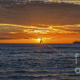 Mitch Shindelbower - Hawaiian Winter Sunset
