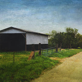 Anna Louise - Hay Barn On Countryside Creek Road
