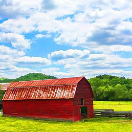 Lorraine Baum - Hayesville Barn Painterly