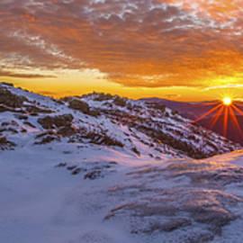 Chris Whiton - Haystack Sunburst Panorama