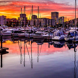 Rob Green - HDR Sunset on Thea Foss Waterway