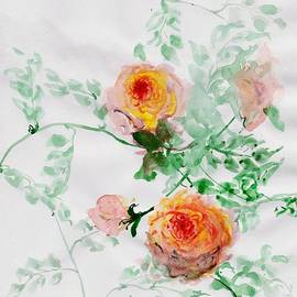 Sweeping Girl - Healing Roses-04