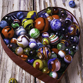 Heart Box With Marbles - Garry Gay