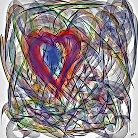 Marian Palucci-Lonzetta - Heart In Motion Abstract