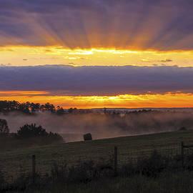 Reid Callaway - Heavens Glow Walker Church Road Sunrise