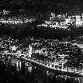 Colin Utz - Heidelberg at Night - Heidelberg bei Nacht