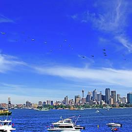 Miroslava Jurcik - Helicopters Flying Over Sydney