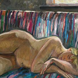 Juliya Zhukova - Her sleep