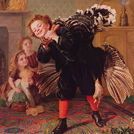 Here Comes the Gobbler - Sophie Anderson