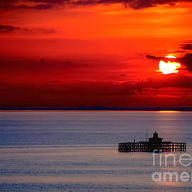 F Helm - Herne Bay By Sunset