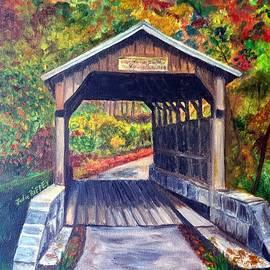 Julie Brugh Riffey - Herns Mill Bridge, Lewisburg WV