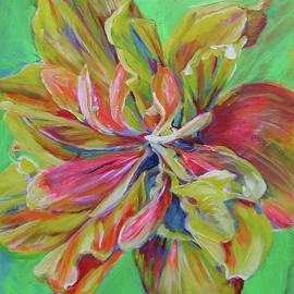 Karin McCombe Jones - Unfurling Bloom