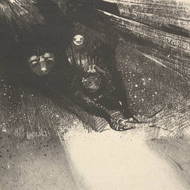 Hideous Larvae - Odilon Redon