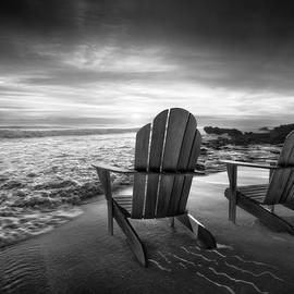 Debra and Dave Vanderlaan - High Tide in Black and White