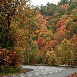 Jeff Folger - High walls of fall colors