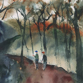 Frank Bright - Hikers