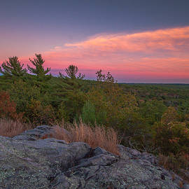 Brian MacLean - Hiking sunset