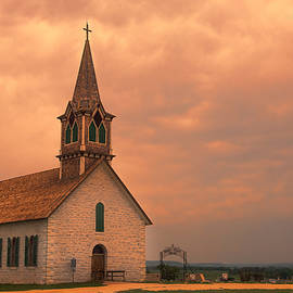 Stephen Stookey - Hill Country Sunset - St Olafs Church