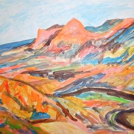 Esther Newman-Cohen - Hills Flowing Down to the Beach