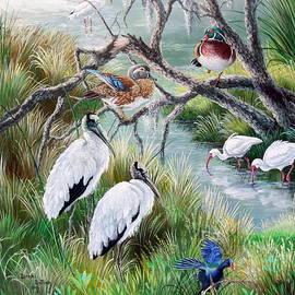 Daniel Butler - Hillsborough River- Birds of a Feather