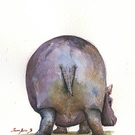 Juan Bosco - Hippo back