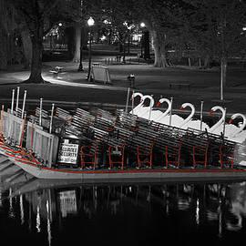 Juergen Roth - Historic Boston Public Garden Swan Boat