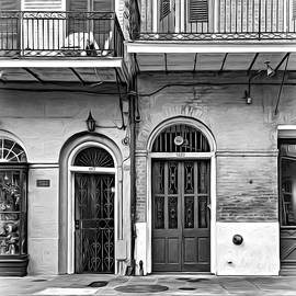 Steve Harrington - Historic Entrances - Paint bw