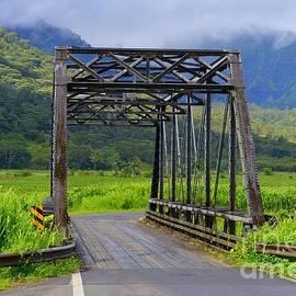 Mary Deal - Historic Hanalei Bridge - Kauai Hawaii