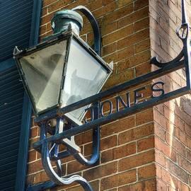 Linda Covino - Historic Jones Street sign