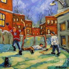 Richard T Pranke - Hockey Kids He Scores