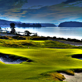 David Patterson - Hole #17 at Chambers Bay