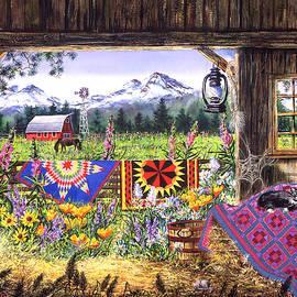 Diane Phalen - Hole in Barn Door