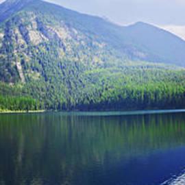 Janie Johnson - Holland Lake Panoramic View