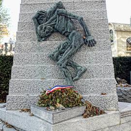 Hugh Smith - Holocaust Memorial Paris