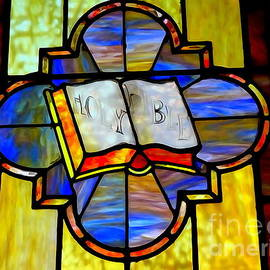 Ed Weidman - Holy Bible Window