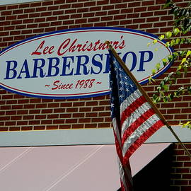 Arlane Crump - HOMETOWN Series - Old Fashioned Barber Shop