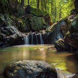 Alan Brown - Honey Hollow waterfall