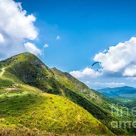 Hon ning Tse - Hong Kong Mountainscape