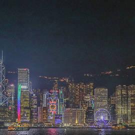 hongkong at night two - Hyuntae Kim