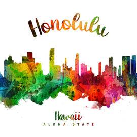 Honolulu Hawaii 24 - Aged Pixel