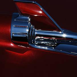 Jani Freimann - 1957 Chevy Belair Hood Rocket Abstract