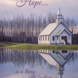 Jordan Blackstone - Hope Is A Thing With Feathers - Inspirational Art