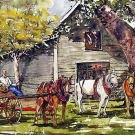 Shirley Sykes Bracken - Horse and Buggy